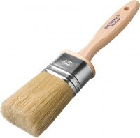 Oval Brush For Linseed Oil Paints From Guldberg
